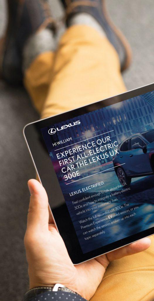 Lexus 300e live event